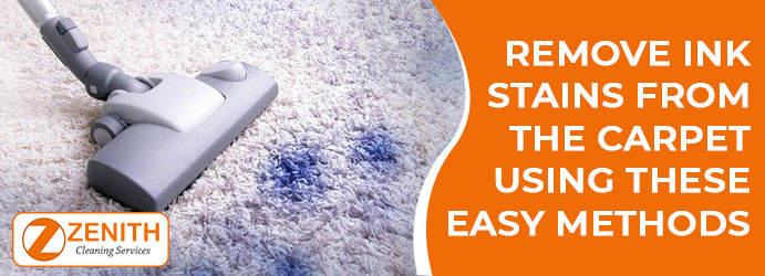 Carpet Ink Stain Removal
